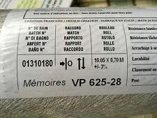 Elitis Vinyl Wallpaper Memoires Vp 625-28 (21 Rolls Available)