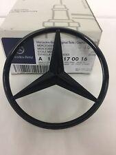 Mercedes-Benz X117 CLA Rear Boot Lid Badge Star - Gloss Black A1178170116