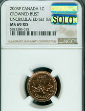 2003-P TEST CANADA CROWNED BUST CENT NGC MS-69 PQ MAC SOLO FINEST MAC SPOTLESS *