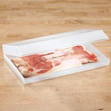 "Bacon keeper  11-1/4"" long x 6-3/4"" wide x 1-3/4"" high"