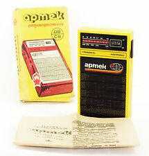 ARTEK Russian Pocket Radio Receiver Child USSR Boxed Good Cond Works MW AM LW
