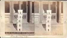 Weitfle Stereoview - No 26 - Silver Bricks, Value $2,000 each c1880s