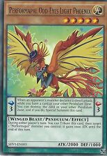 YU-GI-OH CARD: PERFORMAPAL ODD-EYES LIGHT PHOENIX - RARE - SHVI-EN003