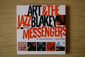 Art Blakey & The Jazz Messengers - 5 Original Albums (5CD) CD 060254711091