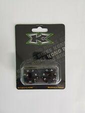 KCNC Bar End Plugs For MTB / BMX  Black