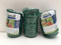 5m SOFT PLANT SUPPORT TIE Reusable Weatherproof Garden Twist Wire Thick Coat