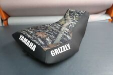 Yamaha Grizzly 660 Camo Top Logo Seat Cover #yz65kya65