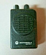 Motorola Minitor V (5) Uhf Stored Voice Sv Pager Single Channel 470-478 Mhz