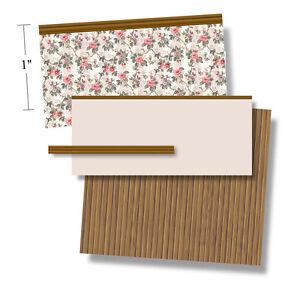1:48 Scale Dollhouse Wallpaper - 1919 Cretonne 2