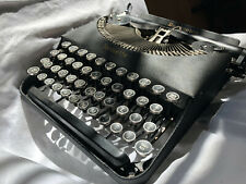 Antique Remington Remette with Glass keys Minty 1938 Outstanding Typewriter!