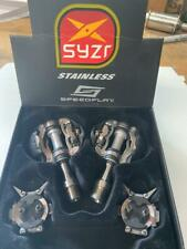 NEW Speedplay SYZR Road Bike bicycle Clipless PEDALS scissor