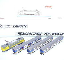 Marklin AC HO Dutch NS 1607 LOCOMOTIVE + LONGEST PASSENGER TRAIN Full Set MIB`89