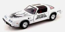 VOITURE MINIATURE 1/18 EME Pontiac Trans Am FIREBIRD 1981 BLANCHE
