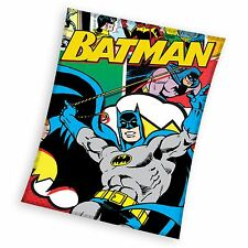 Batman Manta Polar Niños Dormitorio de Niños 100% oficial Nuevo Gratis P + P