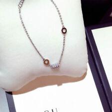 18K Gold Plated Diamante Crystal Gadget Bracelet SILVER
