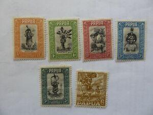 Papua 1932 m/mint selection