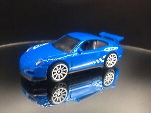 Porsche 911 GT3 RS (Blue) - HW Exotics - Hot Wheels Basic Loose (2020)