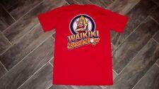 RARE! Men's T-Shirt WAIKIKI BEACHBOYS Hawaii Winter League Baseball S NOS!
