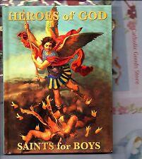 Heros of God - Saints for Boys -  Children NEW Hard Cover