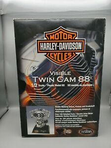 1/2 Testors Harley Davidson Visible Twin Cam 88 S/I 2006 Issue Base with Sound