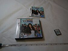 Victorious Taking the Lead Nintendo DS  2012 game Nickelodeon everyone dance off