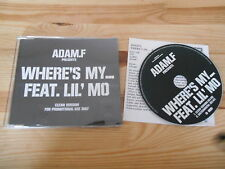 CD Hiphop Adam F. / Ll' Mo - Where's My ... (2 Song) Promo MCD / EMI  +Presskit
