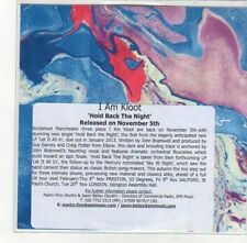 (DK962) I Am Kloot, Hold Back The Night - 2012 DJ CD
