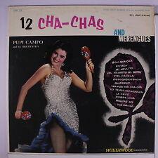 PUPI CAMPO: Cha-cha-cha Merengue LP (sl foxing obc, sl cw) Latin