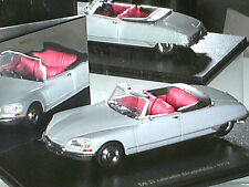 CITROEN DS 21 CABRIOLET GRIS METAL / NOREV COLLECTION