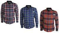 Mens Branded Jack South Check Shirt Long Sleeve Casual Shirt All Sizes S to 2XL