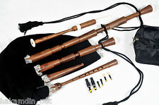 Medieval / Italian Bagpipe / Westren European 2 Drones, Rosewood, Velvet IT-13