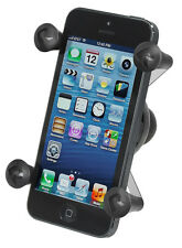 "RAM-HOL-UN7BU Ram Mounts X-GRIP Universal Cell Phone Mount with 1"" Ball iPhone"