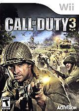 Call of Duty 3 (Nintendo Wii, 2006) VERY GOOD