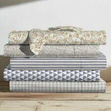 Brielle Home 100% Cotton Printed Sheet Set NEW