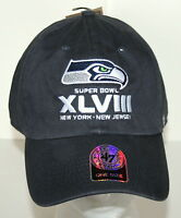 47 Brand Baseball Seattle Seahawks Superbowl NFL Football Team Cap Hat New OSFA