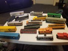 Model railroads trains ho scale freight cars