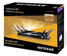 NETGEAR Nighthawk X6 AC3200 Tri-Band Gigabit WiFi Router - R8000