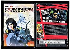 New Dominion Tank Police - Complete Collection (Brand New 2-Disc Anime Set)