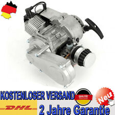 Pocketbike Dirtbike 2 Takt Motor 49cc mit Vergaser Getriebe 49ccm Mini Cross Neu