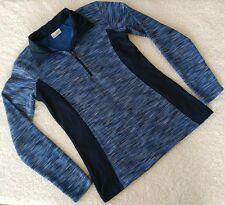 Columbia Sportswear Optic Got It III Blue Jacket - Size XS - Half Zip Fleece