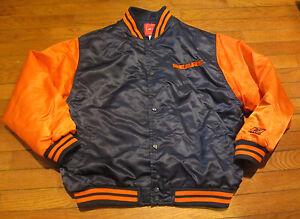 Youth Size XL 18-20 Reebok NFL Football Chicago Bears Coat Jacket Nylon Poly