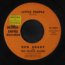 DON GRADY & PALACE GUARD: Little People / Summertime Game 45 (promo tol)