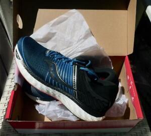 SAUCONY TRIUMPH 17 RUNNING SHOE S20546-35  US 12 M / BLUE & BLACK - NEW IN BOX