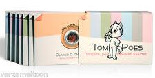 NEDERLAND: TOM POES: Complete serie van zeven: Florijnen, postzegels en kaarten