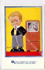 (Gb1098-480) Vera Paterson Art Comic, Retro Valve TV Theme c1950 EX