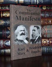 The Communist Manifesto by Karl Marx Unabridged  Brand New Hardcover Edition