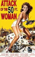 ATTACK OF THE FIFTY 50 FOOT WOMAN MOVIE SCORE POSTER 24X36 new free shipping