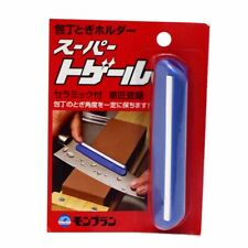 Japanese Sharpening stone whetstone sharp Knife ceramic guide clip free ship