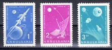 Bulgaria - 1963 Space / Moon exploration - Mi. 1388-90 MNH