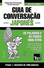 Guia de Conversacao Portugues-Japones e Dicionario Conciso 1500 Palavras by...